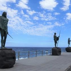 P1060735 Tenerife   Beeldengroep  Candelaria  21 mei 2019