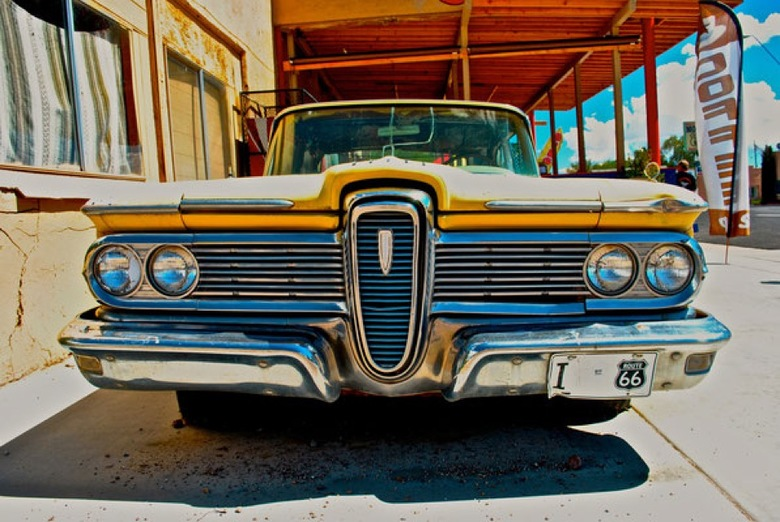 Yellow Dodge -