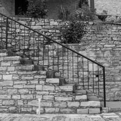 Small stairs in Cyprus