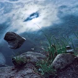 Lucht in het water
