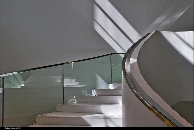 Drents-museum-02 - Drents-museum heeft niet 1 maar 2 geweldige moderne trappen.<br /> Het genieten was dus dubbel op.!