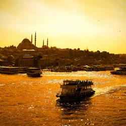 de haven van Istanbul