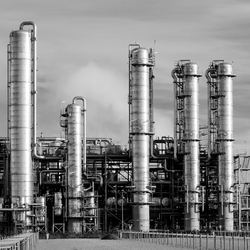 Industrial in Black and White