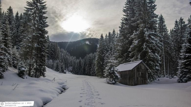 """Oostenrijk Annaberg - Tijdens onze wandeling achter het huisje zijn we deze mooie plek tegen gekomen.. Het was het vastleggen waard <img  src=""""/images"""