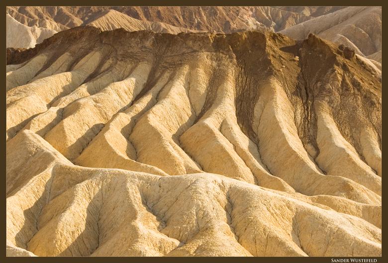 Death Valley - Foto genomen op een uitzicht punt ergens in het mooie maar veel te hete.. Death Valley