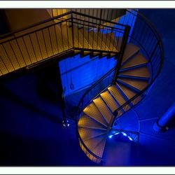 trap in de watertoren