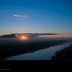 Dawn in reclaimed land III