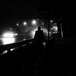 Sinaia - Nachtwandeling...