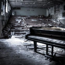 Muziekschool  in Pripyat