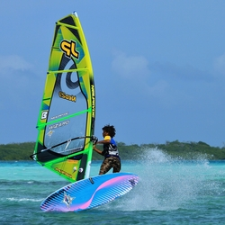 Windsurfer Lac Bay Bonaire