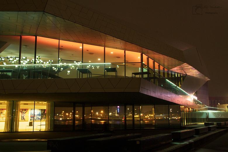 eye  - Het was een mooie avond voor fotografie bij het Eye in Amsterdam.