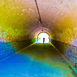 Tunnel, central park NY