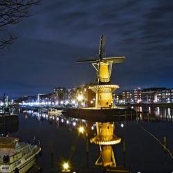 Molen a.d. Westzeedijk te Rotterdam