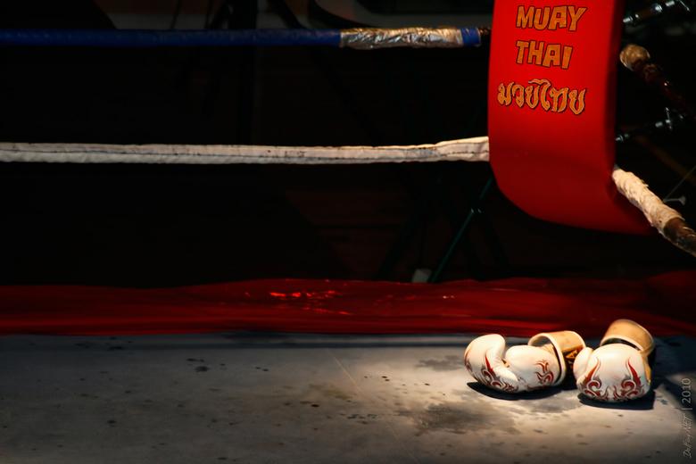 After Training - Muay Thai (Kickboxen / Thaiboxen)<br /> De basis is respect onder de echte beoefenaars. Het huidige Muay Thai is indirect afkomstig