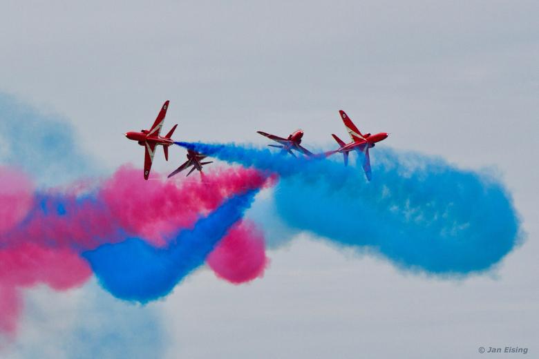 Blender flight - Gave airshow van de Red Arrows