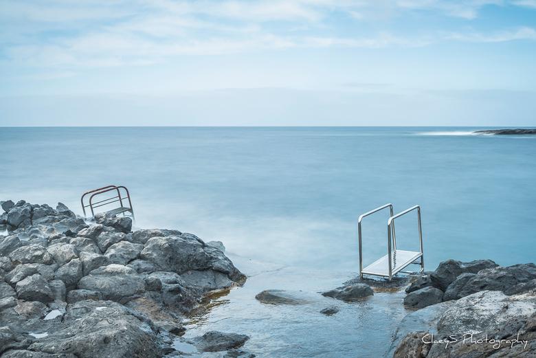 Let's go swimming - Kustlijn te Tenerife, Playa Paraiso.