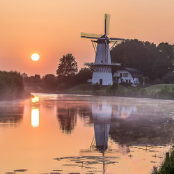 Sunrise at the Mill