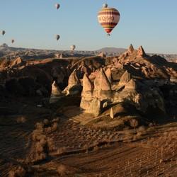 uitzicht Cappadocië