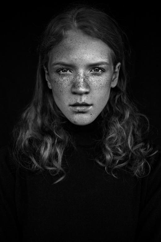 Portrait of Marta - Photography: Agata Serge<br /> Model: Marta @ EC Management