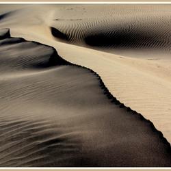 Zandduinen van Ica in Peru