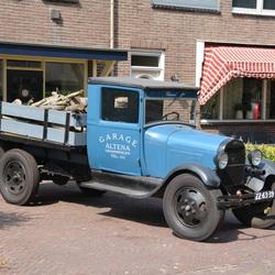 Oude antieke truck