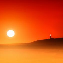 Zonsondergang op Kefalonia
