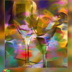 breng een drinker en zijn glas samen...............