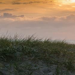 Sunset op Texel