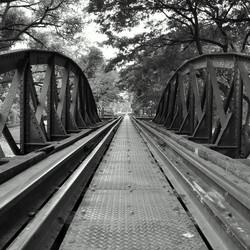 Bridge over de river Kwai