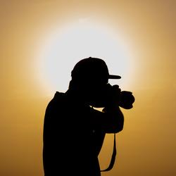 Fotograaf in actie