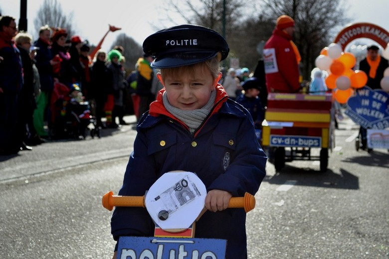 Optocht - Een deelnemer van de bosuilse carnavalsoptocht.<br /> <br /> ---<br /> Reacties welkom!