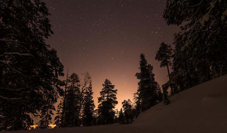 Lapland,Finland - Op zoek naar het noorderlicht maar de andere kant is ook mooi!!!