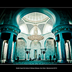 Shaikh Zayed Bin Sultan Al Nahyan Mosque, Abu Dhabi