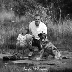 Scott, Marcel en Simba