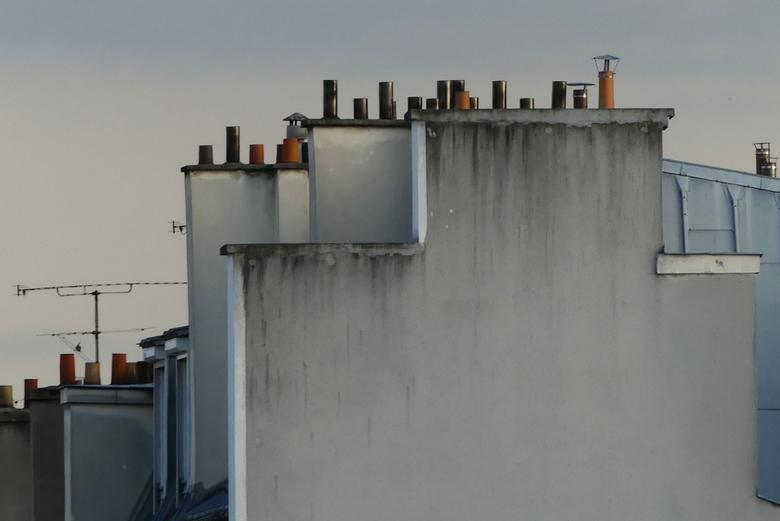 Schoorstenen Parijs -