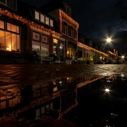 Kerstsfeer in reflectie