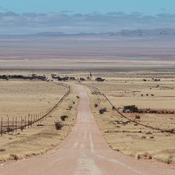 Endless road Namib