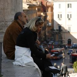 sfeerbeeld in Rome