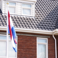 Vlag in de top