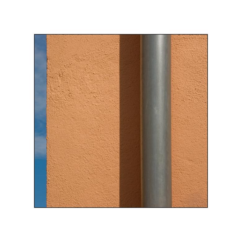 Le tube de la pluie - Elzasser straatbeeld.