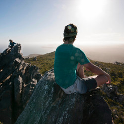 On top of Fitzgerald National Park Australie