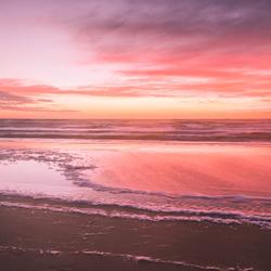 Kleurrijke zee