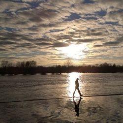 Lopen over het water