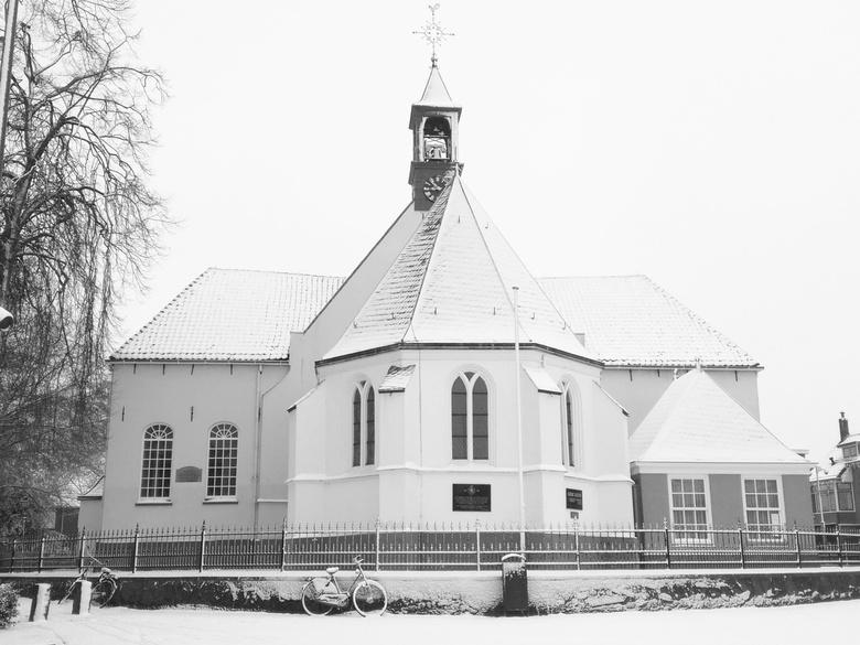 Oude Kerk op de Markt, Veenendaal  - Het witte kerkje, nu nog witter!