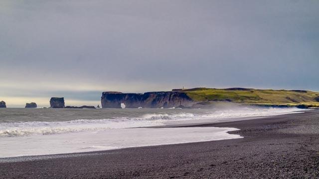 Lavastrand Ijsland