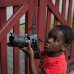 Isaiah fotografeert