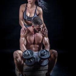 Duo fitness shoot