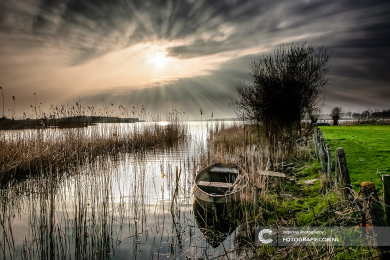 Wegdromen in de IJsseldelta