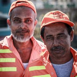 Werklui in de Emiraten
