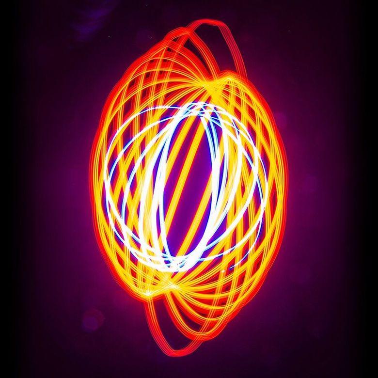 Spiral Lightpainting 1 -
